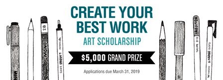 Tombow Announces Create Your Best Work Art Scholarship