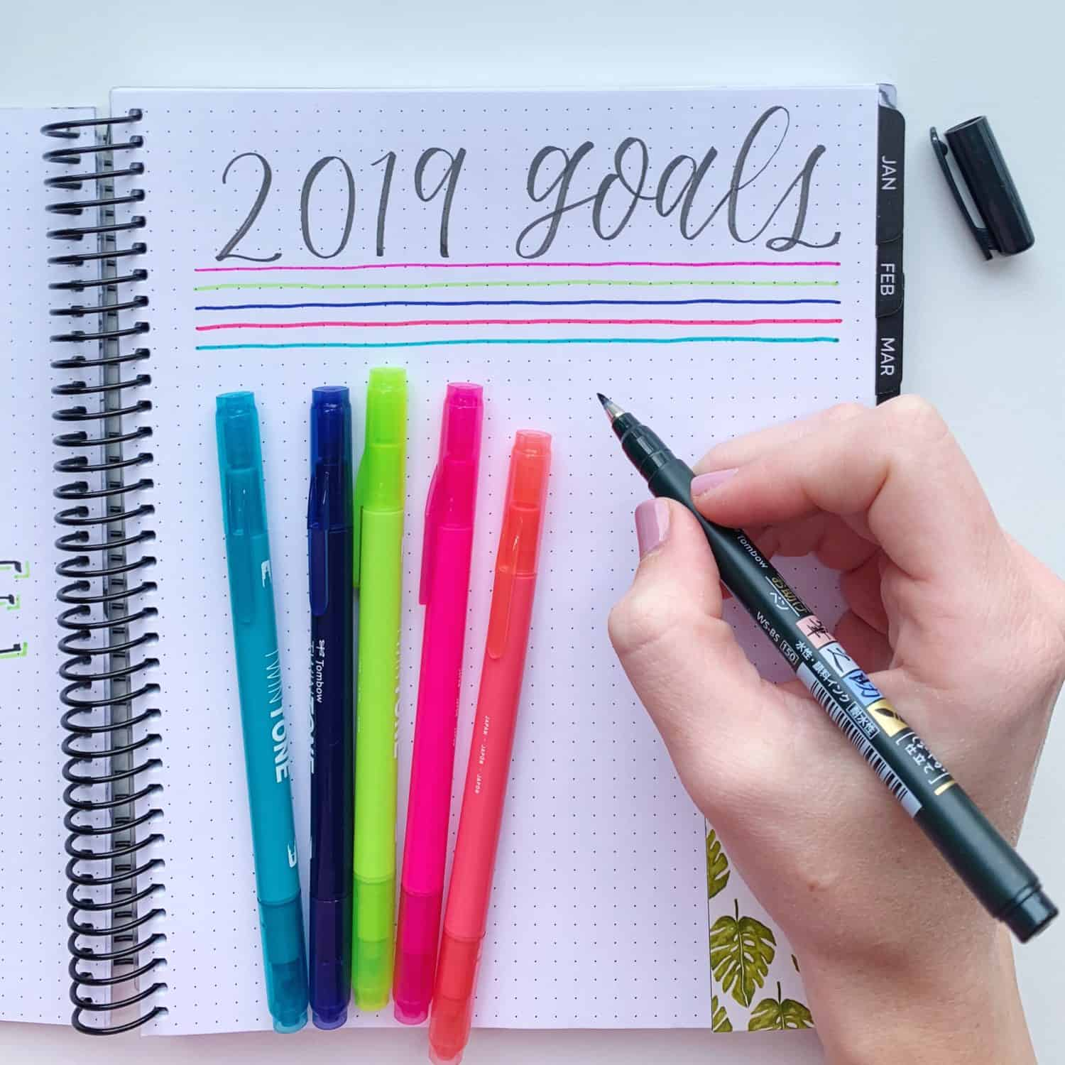 Stick To Your 2019 Goals
