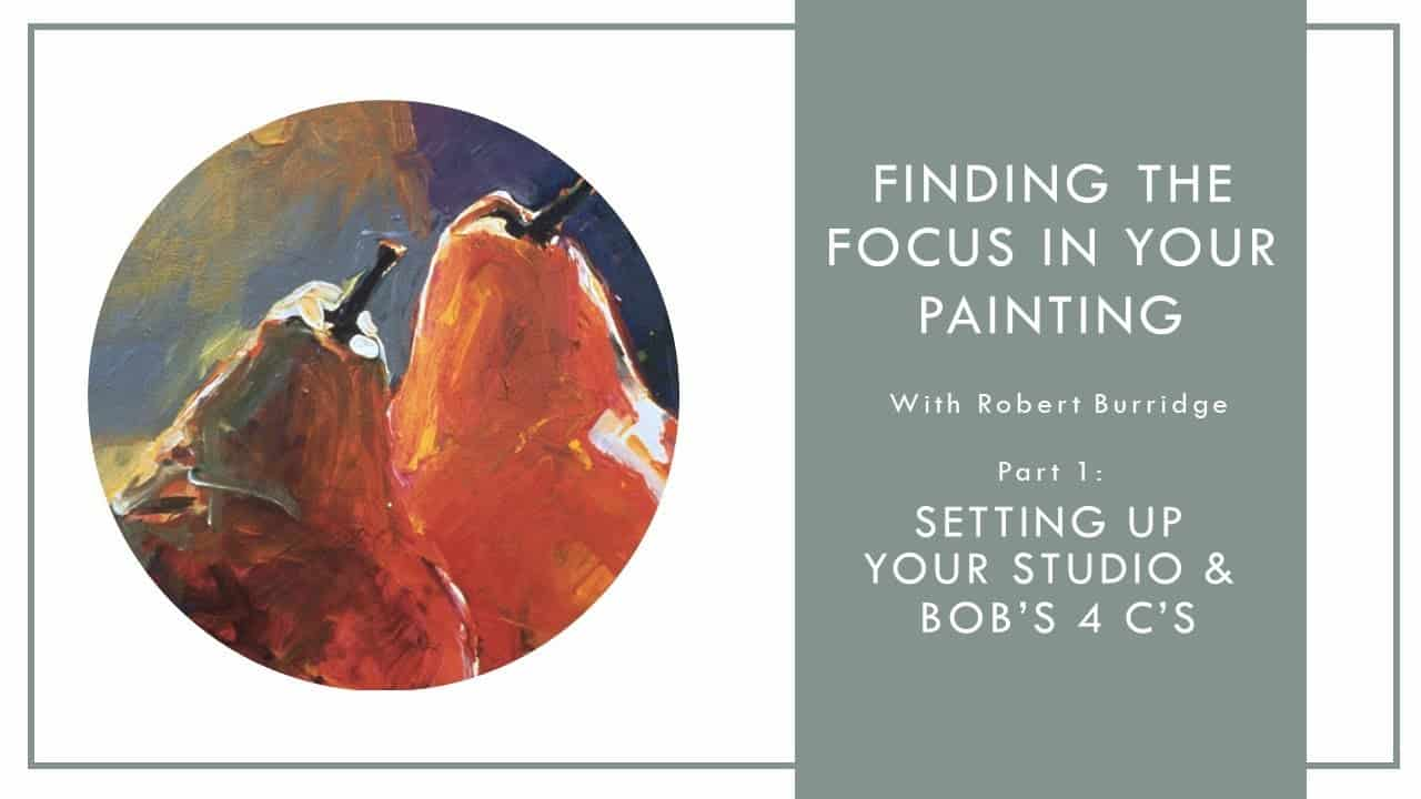 Video: Oil Painting Tutorial with Robert Burridge