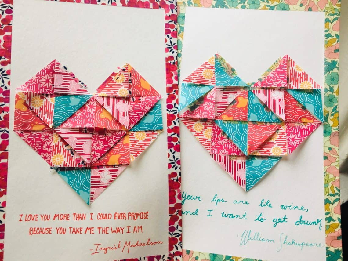 How To: Paper Hearts for Singles Awareness Day