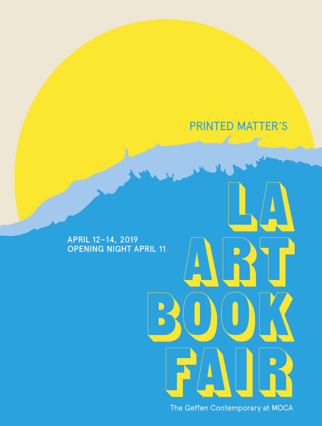 Printed Matter's LA Art Book Fair 2019