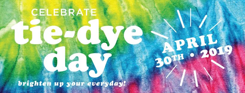 Happy National Tie-Dye Day!