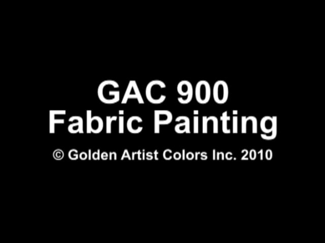 Greater Control in Fabric Painting
