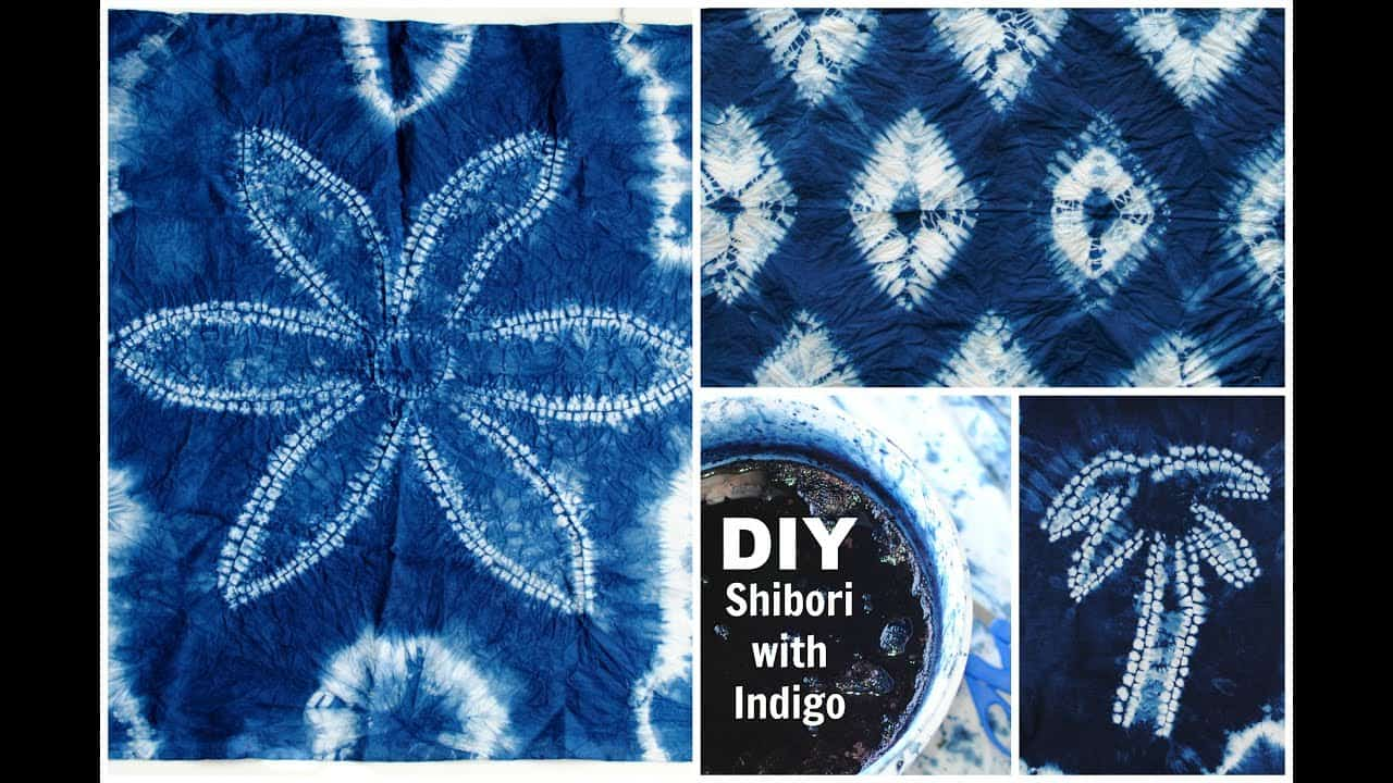 DIY: Shibori with Indigo Dye