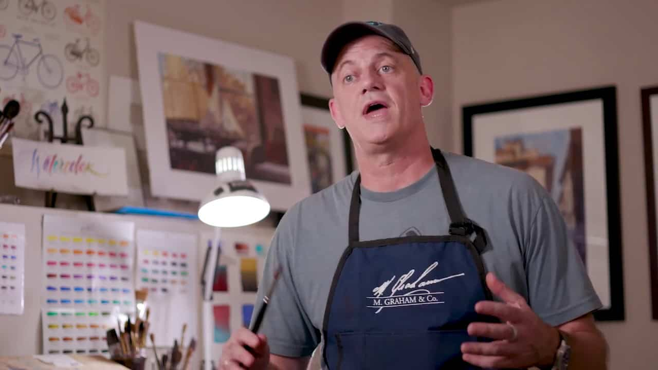 Meet M. Graham Paint Artist Ambassador Ron Stocke, Watercolorist
