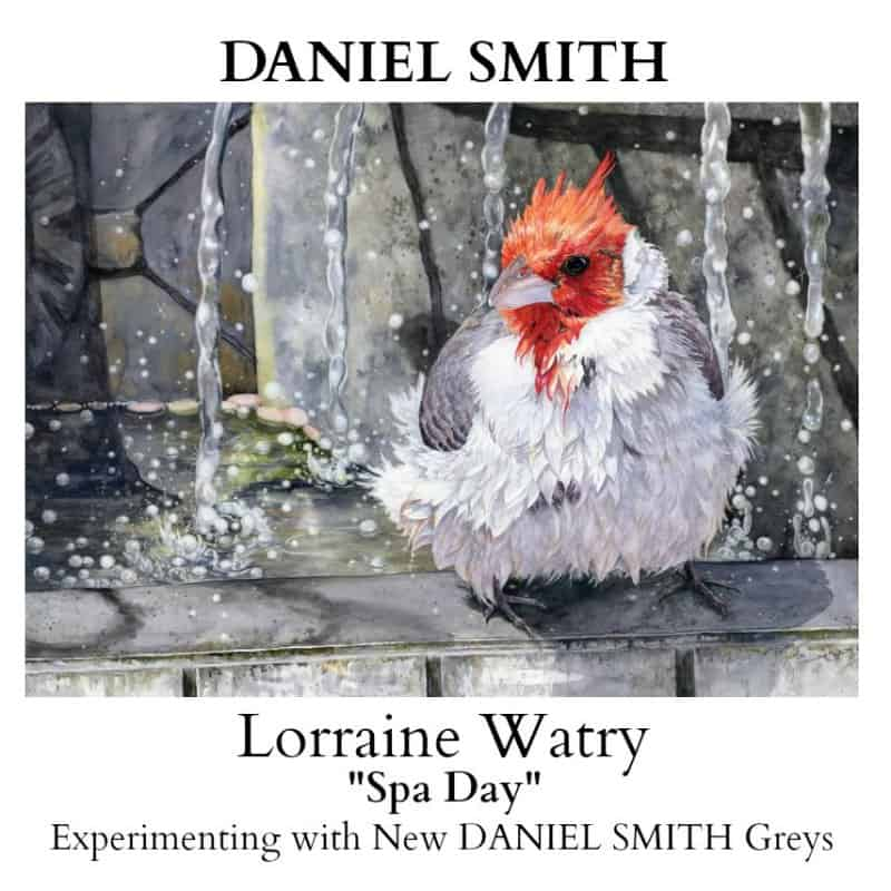 Introducing Lorraine Watry, Watercolor Artist