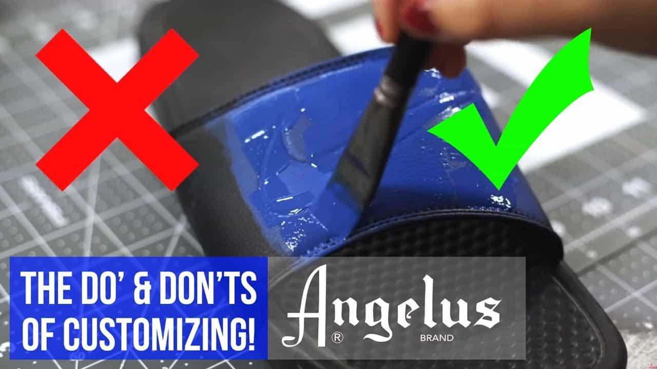 The Do's & Don'ts of Using Angelus Leather Paints