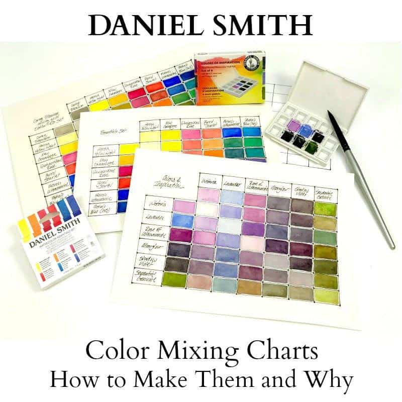 Watercolor Mixing Charts: How to Make Them and Why