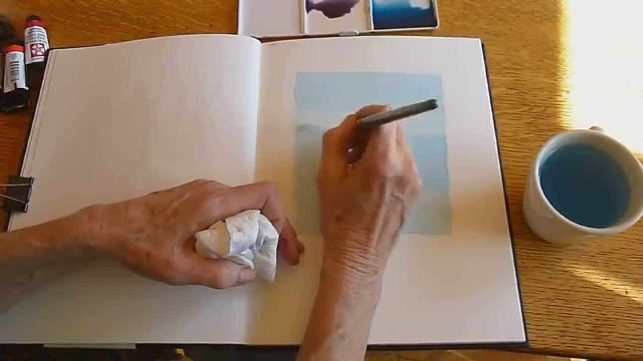 Celebrate World Watercolor Month: Sketching &  Journaling w/Gay Kraeger