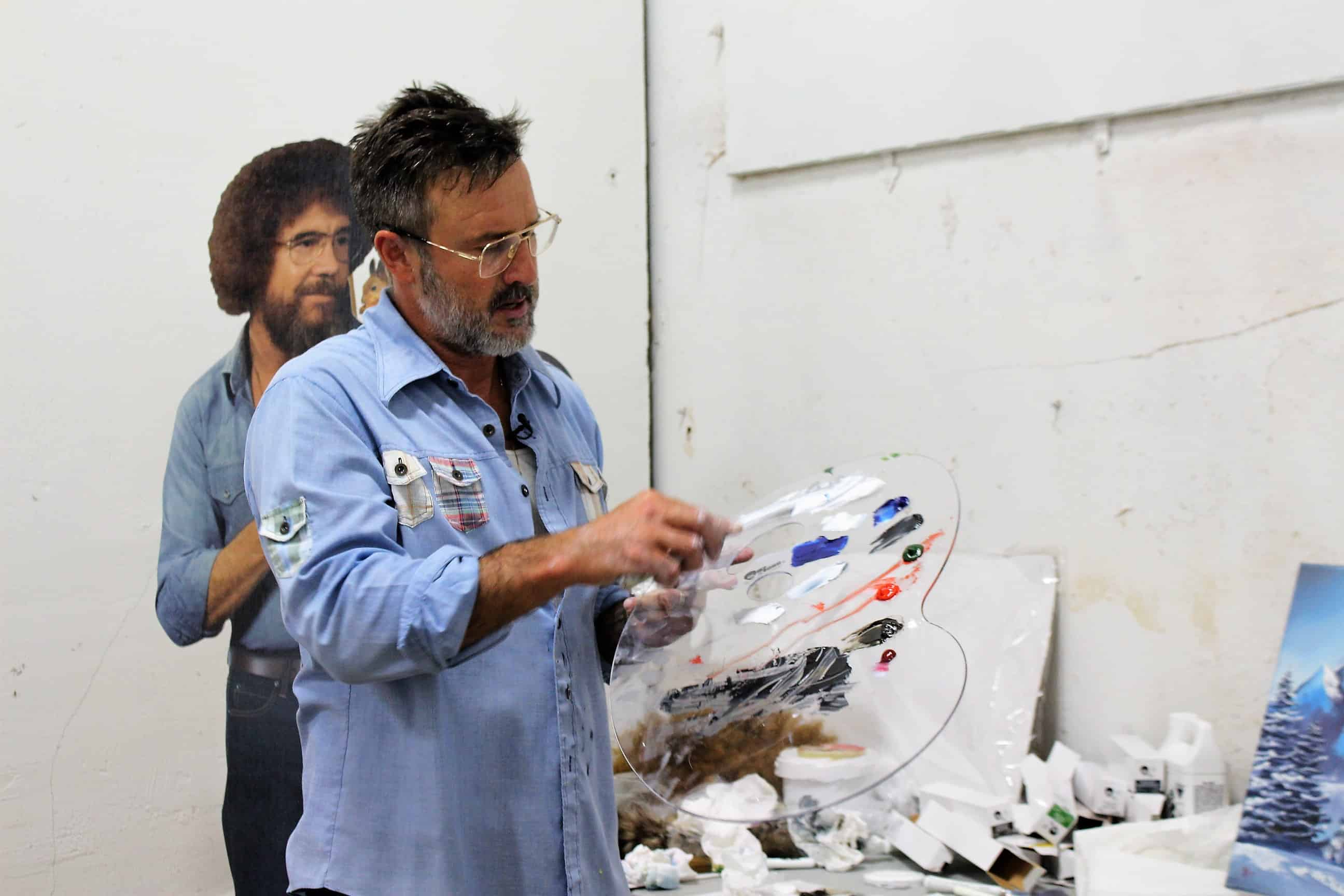 Is David Arquette the new Bob Ross?