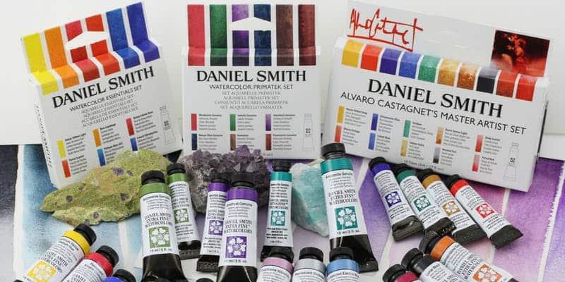 November 14: Exploring Daniel Smith Watercolors